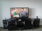 TV LCD 46inches with entertainment unit and Surround sound system