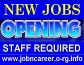 JOB Openings x URGENT Staff Required.