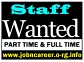 STAFF WANTED - PART TIME & FULL TIME