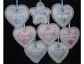 Handmade Personalised Pram Heart Charms