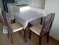 Brand new real wood dining set